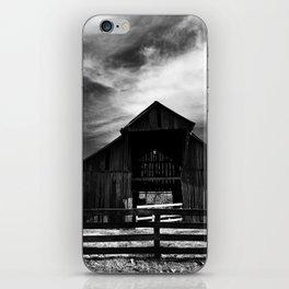 Dark Barn iPhone Skin