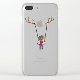 Swinging Clear iPhone Case