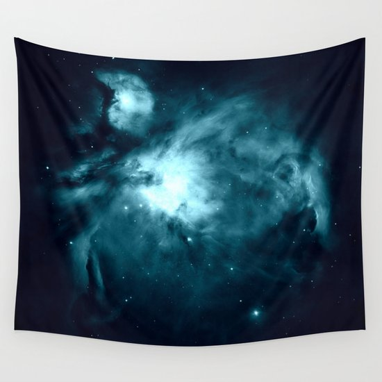 teal space nebula - photo #12