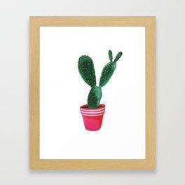 C A C T I  II Framed Art Print