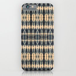 Deep Indigo Shibori iPhone Case