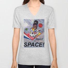 Fight For Space Unisex V-Neck