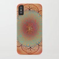 chakra iPhone & iPod Cases featuring Sacral Chakra by brenda erickson