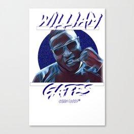 Commision - William Gates Canvas Print