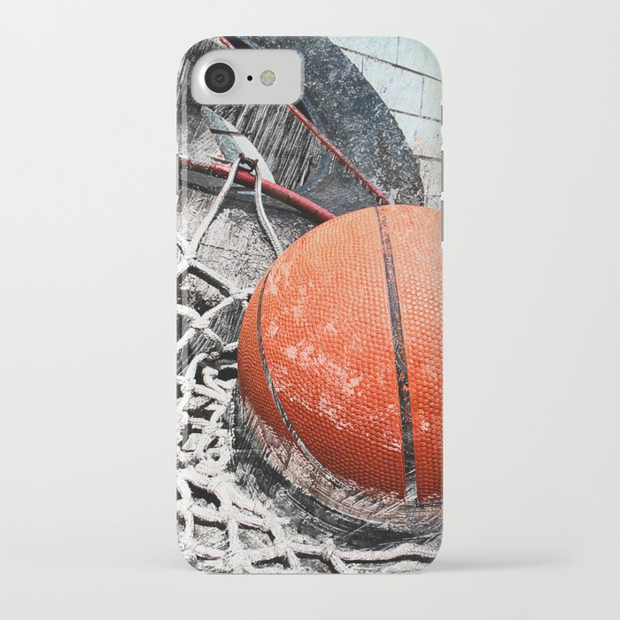modern basketball art 8 iphone case