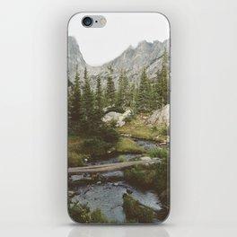 Dream Lake Creek iPhone Skin