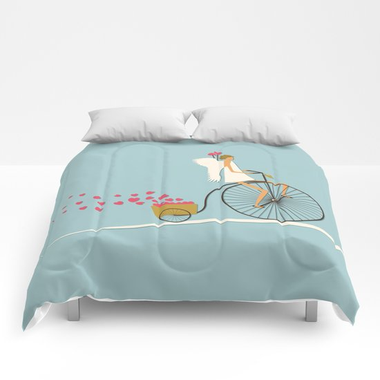 Love Delivery Comforters