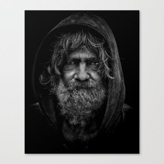 homeless man people 5 Canvas Print