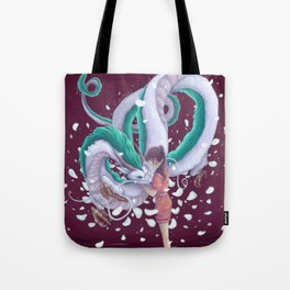 Scales of Water Tote Bag