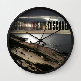 Explore. Dream. Discover Wall Clock