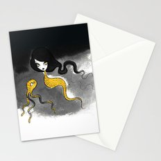 Golden Scales Stationery Cards