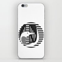 diver iPhone & iPod Skins featuring diver by Gray