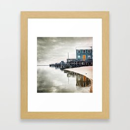 Provincetown Massachusetts Photograph Framed Art Print