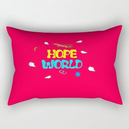 BTS Jhope Hope Worl Design Rectangular Pillow