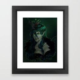 Queen of Mean Framed Art Print