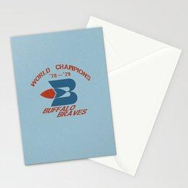 World Champion Braves Stationery Cards