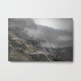 Hathersage, England Cliffs Metal Print