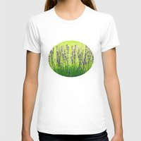 lavender T-shirts featuring Lavender by Tanja Riedel