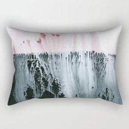 Ink Drip Rectangular Pillow