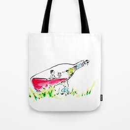 """Somm, into the bottle chapter 2 """"Into the bottle"""" Tote Bag"""