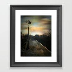 Bitton Railway Platform Framed Art Print