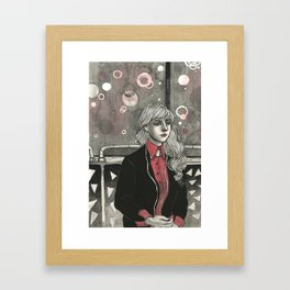 Don't Worry About Why I'm Ignoring You Framed Art Print