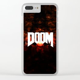 DOOM3 Clear iPhone Case