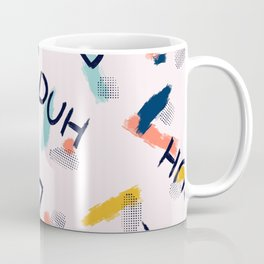 DUH Pattern Coffee Mug