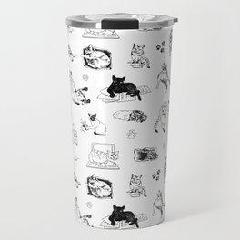 Cat Things Travel Mug