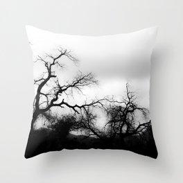 DARK FEEL Throw Pillow