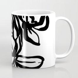 Garden Rose -  Ink illustration Coffee Mug
