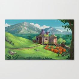 The Pumpkin Hut Canvas Print