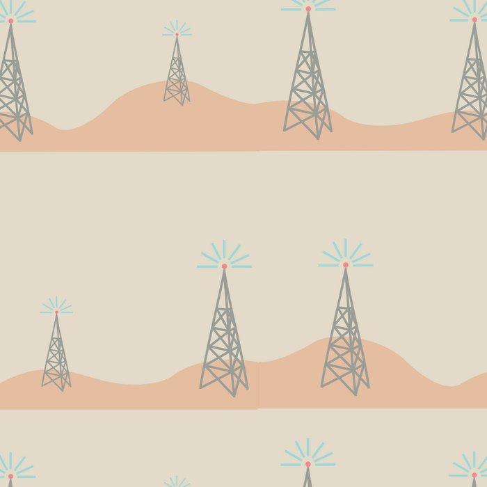 radio tower Leggings