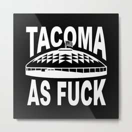 Tacoma AF Dome Metal Print