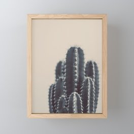 Vintage Cactus #1 Framed Mini Art Print