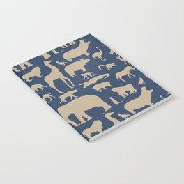 African Fauna // Khaki & Navy Notebook