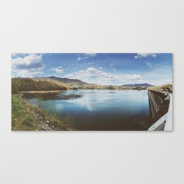 Fontana Dam Panorama • Appalachian Trail Canvas Print