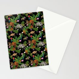 Animals of the Amazon jungle print Stationery Cards