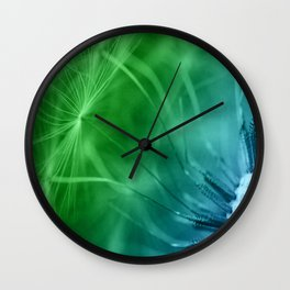 Dandelion Seeds Wall Clock