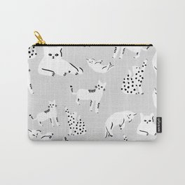 Cats X Grey Carry-All Pouch