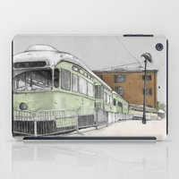 hook iPad Cases featuring Red Hook by Lane Scarano