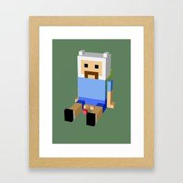Weird Guy Framed Art Print
