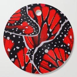 red monarch Cutting Board