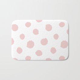 Pink dots Bath Mat
