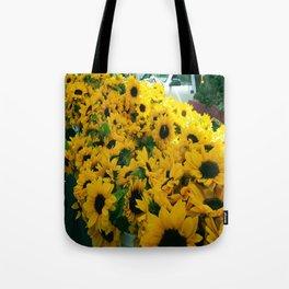 Farmer's Market Flowers Tote Bag