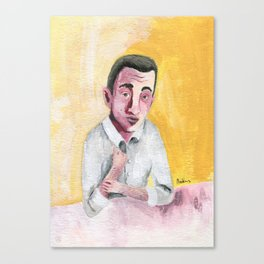 JD Salinger portrait Canvas Print