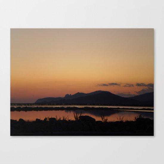 las salinas Canvas Print