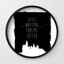 Hogwarts Letter Wall Clock