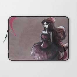 The Lady in Pink Laptop Sleeve