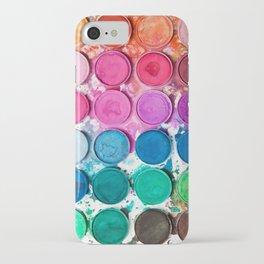 Watercolor Paints iPhone Case